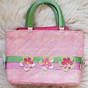 Andrea Stuart New York Beautiful Woven Straw Bag